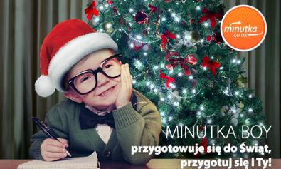 świąteczny przelew z UK w Minutka.co.uk
